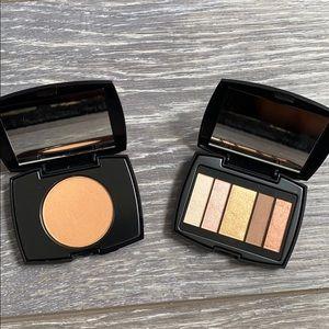 Eyeshadow and Bronzer